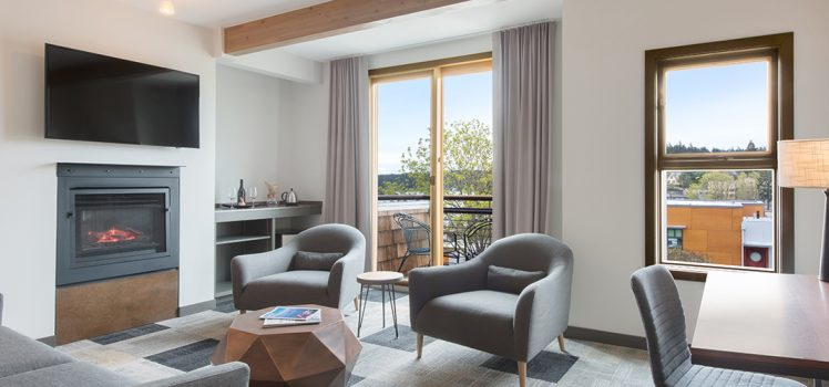 Experience Fully Refreshed Guestrooms At Friday Harbor House