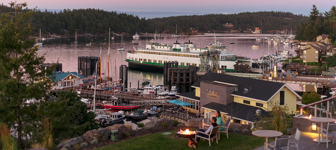Friday Harbor House outdoor dining